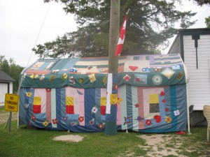 Tea Tent Quilted 2013